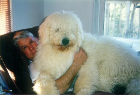 Mike and Baby Huey at 8 months old